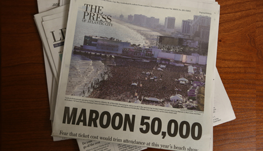 Kean: Extraordinary Maroon 5 Attendance Proves A-List Legislation Would Establish AC as Premier Entertainment Destination