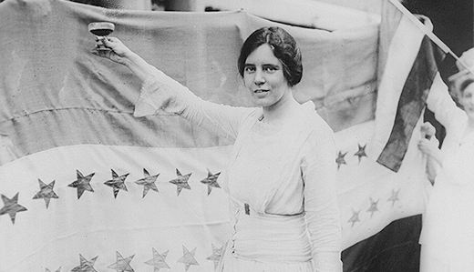 Allen Bill Urges Congress to Recognize Women's Right Hero Alice Paul