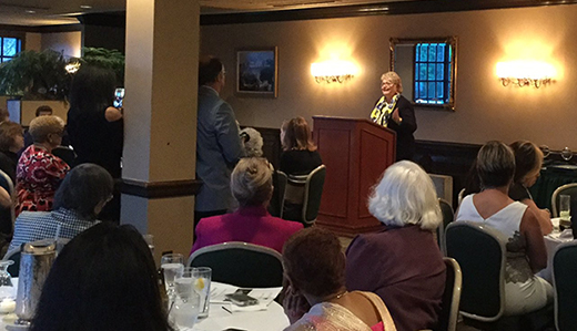 Allen Honored for Efforts to Increase Gender Parity in Government