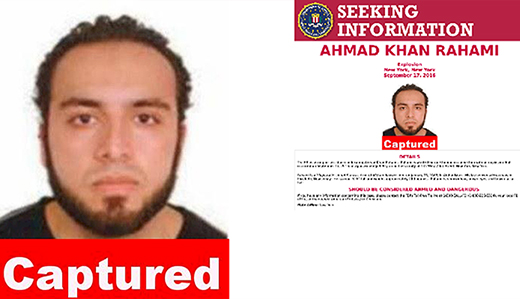 Kean on Capture of NJ & NYC Bombing Suspect