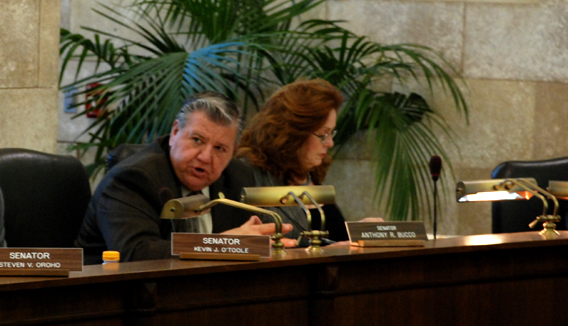 Senator Bucco Questions State Treasurer Rousseau During Budget Committe Hearing