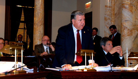 Senator Bucco Speaking Against Governor Corzine's 2010 Budget