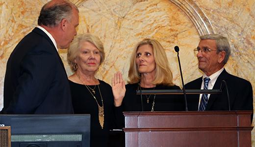 Corrado Sworn-in as Senator for 40th District