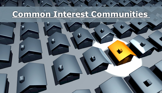 Update on Common Interest Communities Legislation