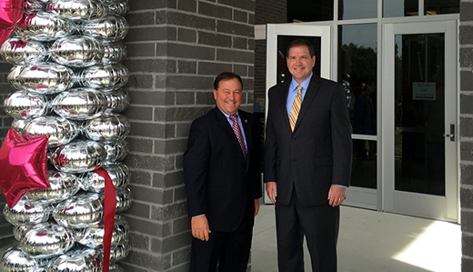 Doherty on Completion & Dedication of New Phillipsburg High School