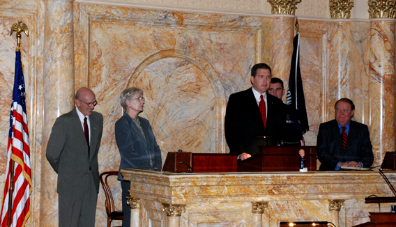 Senator Mike Doherty Speaking to Senate After Being Sworn In
