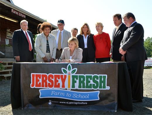 "Oroho Bills to Grow ""Farm to School"" Program Signed Into Law"