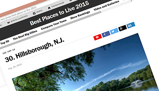 Bateman, Ciattarelli & Simon Congratulate Hillsborough, Again Named One of Top Small Towns in United States