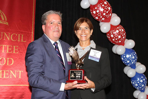 "Beck Receives ""Patriot Award"" from New Jersey Food Council"
