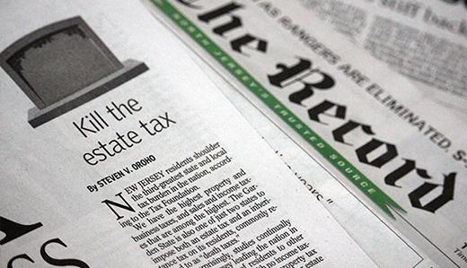 Oroho Editorial: Kill the Estate Tax