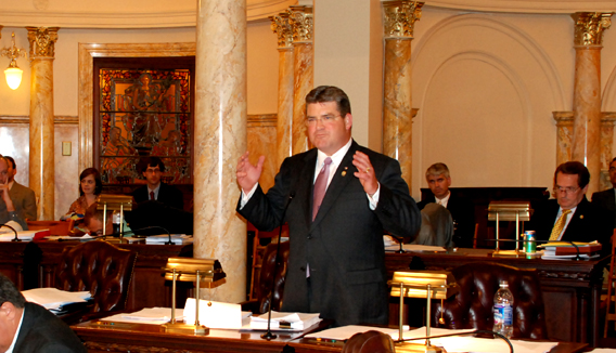 Senator Oroho Speaking Against Governor Corzine's 2010 Budget