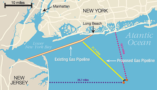 Connors, Rumpf & Gove Oppose Construction of Offshore LNG Terminal