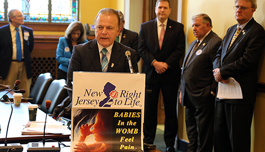 Pennacchio & Oroho Urge Congress to Pass Pain-Capable Unborn Child Protection Act