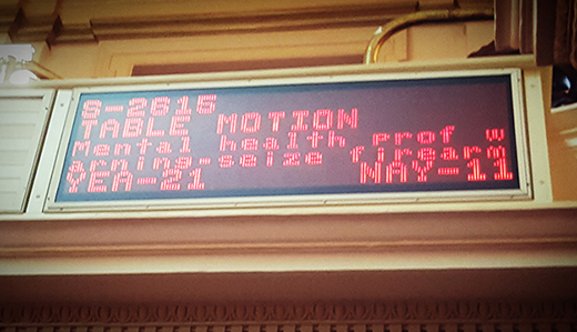 Beck's Legislation to Remove Firearms When Threat Exists Blocked by Senate Democrats Again