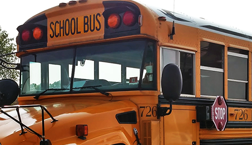 Senate Passes Holzapfel Bill to Improve Safety of Children Near School Busses