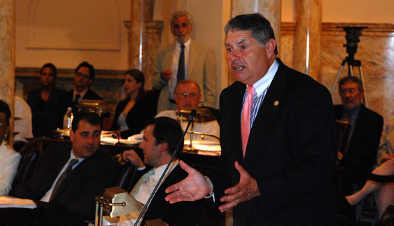 Senator Singer Speaking in Opposition to Governor Corzine's Tax-Raising 2010 Budget