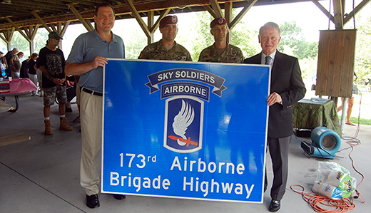 "Doherty to Celebrate Commemoration of ""173rd Airborne Brigade Highway"""