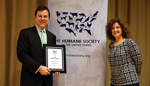 Kean & Holzapfel Honored by Humane Society for Work Protecting Animals