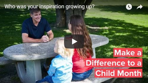July: Make a Difference to a Child Month