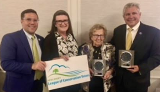 Bateman, Weinberg Honored by NJ League of Conservation Voters