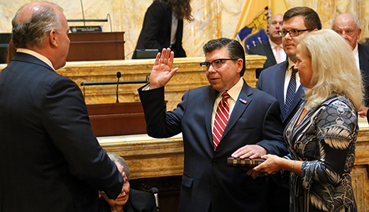 Senator Anthony M. Bucco Takes Oath of Office
