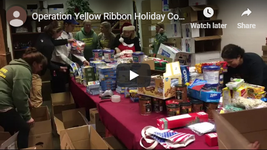 Operation Yellow Ribbon Teaming with 8th District Legislators to Collect Cookies for Soldiers Overseas
