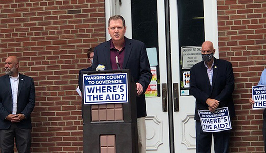 Doherty to Murphy: Where's the Aid for Warren County?