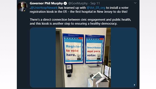 Pennacchio: Voter Registration Kiosk Inside Emergency Room is Insane