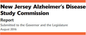 New Jersey Alzheimer's Disease Study Commission Report
