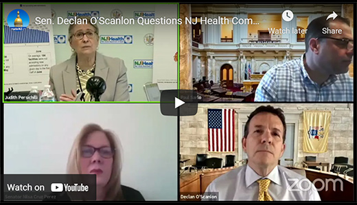 O'Scanlon: Murphy Must Follow CDC Guidelines, End Mask & Distancing Guidelines . . . or Admit He Doesn't Believe Vaccines Work