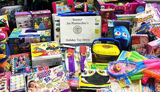 Senator Pennacchio's Holiday Toy Drive Collecting Gifts for Children Through 12/17