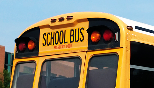 Now Law: Thompson Bill to Require Lap & Shoulder Belts on School Buses