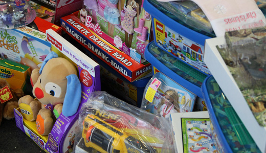 Corrado Announces National Adoption Day Toy Drive